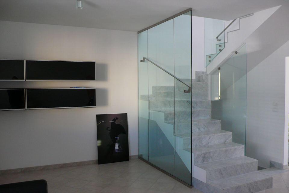 pareti in vetro arredamento porte in vetro realizzazioni per esterni